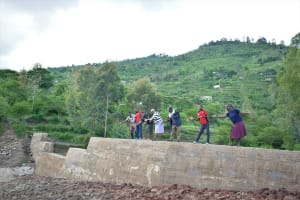 The Water Project: Kyamwao Community -  Complete Dam