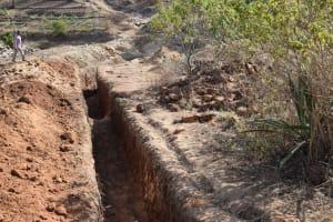 The Water Project: Kyamwao Community -  Trenching