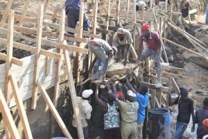 The Water Project: Kyamwao Community -  Wall Work