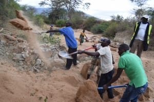 The Water Project: Ngitini Community E -  Digging