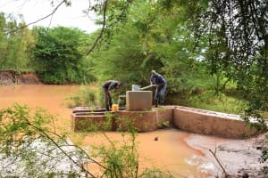 The Water Project: Ngitini Community E -  Reliable Water