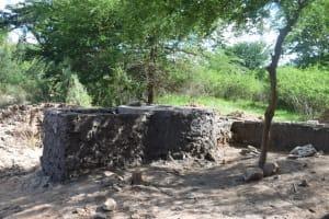 The Water Project: Ngitini Community E -  Well Phase Three Progress