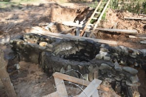 The Water Project: Ngitini Community E -  Well Progress
