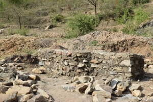 The Water Project: Kyamwao Community A -  Well Foundation Construction