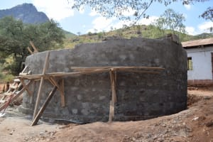 The Water Project: Maviaume Primary School -  Construction
