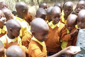 The Water Project: Maviaume Primary School -  Handwashing With Soap