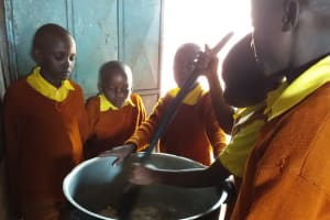 The Water Project: Maviaume Primary School -  Soapmaking