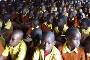 The Water Project: Maviaume Primary School -  Students At The Training