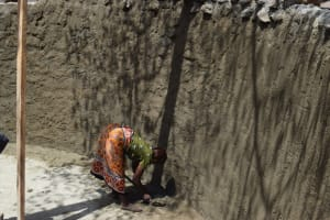 The Water Project: Maviaume Primary School -  Working On The Tank