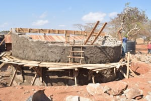 The Water Project: Kyandoa Primary School -  Dome Work