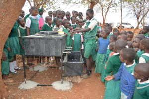The Water Project: Kyandoa Primary School -  Handwashing Lessons