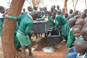 The Water Project: Kyandoa Primary School -  Handwashing Training