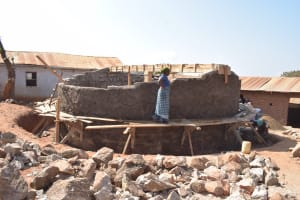 The Water Project: Kyandoa Primary School -  Phase Three Of Tank Construction