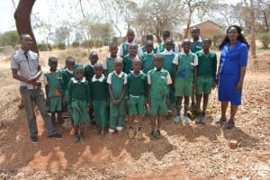 The Water Project: Kyandoa Primary School -  Student Health Club Members