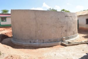 The Water Project: Kyandoa Primary School -  Tank Construction Complete