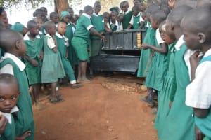 The Water Project: Kangutha Primary School -  Handwashing Demonstration