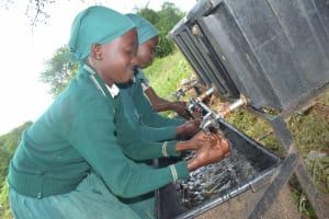 The Water Project: Kangutha Primary School -  Handwashing