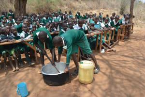 The Water Project: Kangutha Primary School -  Soapmaking Demonstration