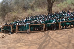 The Water Project: Kangutha Primary School -  Students At The Training
