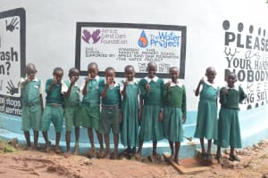 The Water Project: Kangutha Primary School -  Thumbs Up