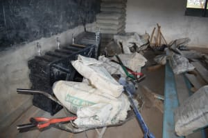 The Water Project: Kithoni Primary School -  Construction Materials