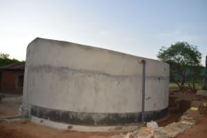 The Water Project: Kithoni Primary School -  Curing Tank