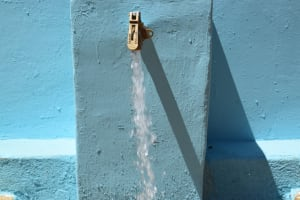 The Water Project: Kithoni Primary School -  Water From The Tank