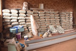 The Water Project: Nguluma Primary School -  Cement Bags