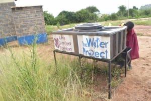 The Water Project: Nguluma Primary School -  Handwashing Station