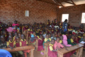 The Water Project: Nguluma Primary School -  Students At The Training