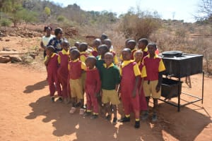 The Water Project: Nguluma Primary School -  Students Pose During The Handwashing Session