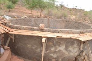 The Water Project: Nguluma Primary School -  Wall Progress