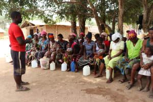 The Water Project: Kamayea, Susu Community & Church -  Church Pastor Speaks At The Training
