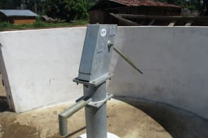 The Water Project: Kamayea, Susu Community & Church -  Completed Well
