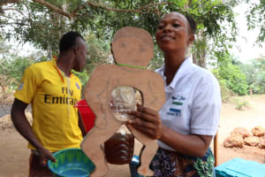 The Water Project: Kamayea, Susu Community & Church -  Diarrhea Lessons