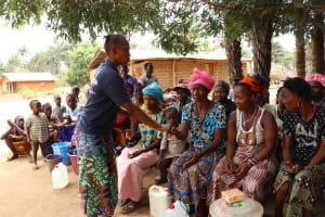 The Water Project: Kamayea, Susu Community & Church -  Disease Transmission Demonstration