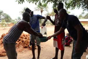 The Water Project: Kamayea, Susu Community & Church -  Handwashing