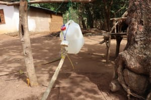 The Water Project: Kamayea, Susu Community & Church -  Tippy Tap