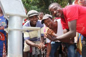 The Water Project: Kamayea, Susu Community & Church -  Well Celebration
