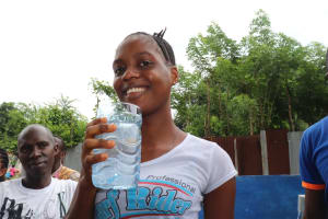 The Water Project: Lungi, Tintafor, St. Lucia Well -  Sento S Conteh