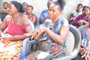 The Water Project: Lungi, 25 Maylie Lane -  Community Members Show Proper Handwashing