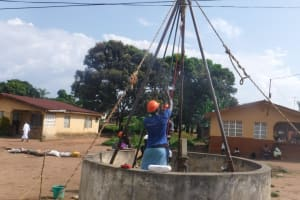The Water Project: Lungi, 25 Maylie Lane -  Drilling