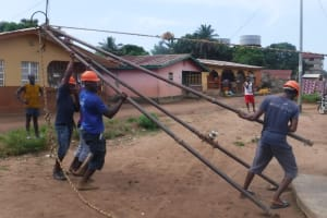 The Water Project: Lungi, 25 Maylie Lane -  Raising The Tripod