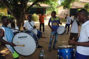 The Water Project: Lungi, Tintafor, #3 DelMoody Street -  Brass Band Set For Dedication