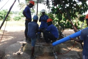 The Water Project: Lungi, Tintafor, #3 DelMoody Street -  Drilling