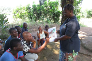 The Water Project: Lungi, Tintafor, #3 DelMoody Street -  Hygiene And Sanitation Training Materials
