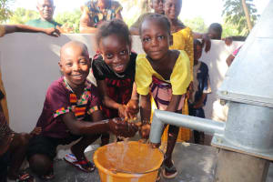 The Water Project: Lungi, Tintafor, #3 DelMoody Street -  Kids Play At The Well