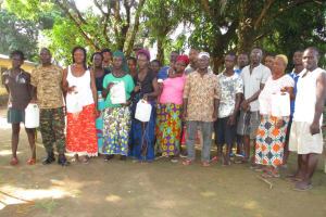 The Water Project: Lungi, Tintafor, #3 DelMoody Street -  Training Participants