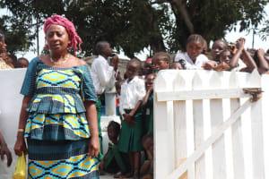 The Water Project: Lungi, Kasongha, DEC Kasongha Primary School -  Deputy Head Teacher Making Statement