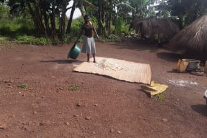 The Water Project: Kaitabahuma I Community -  Drying Food